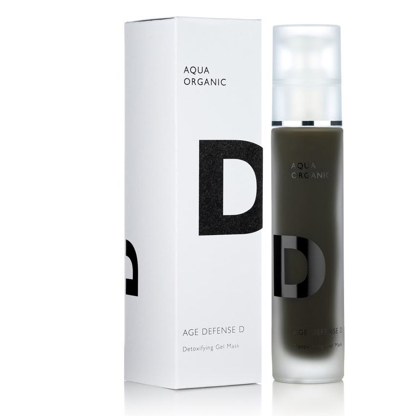 Aqua Organic - D age defense / Algen Maske für Fresh Up zwischendurch.