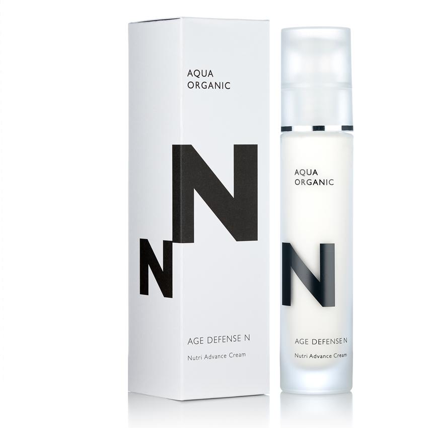 Aqua Organic - N age defense / Anti-Aging - Perfekt für die kalte Jahreszeit.