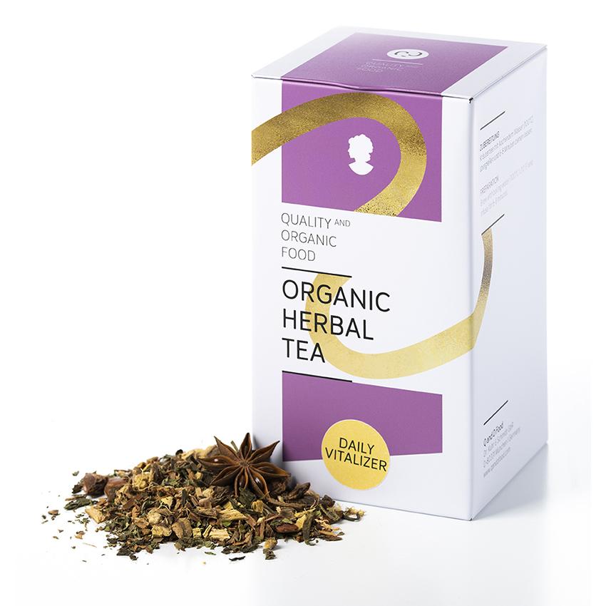 Organic Herbal Tea - daily vitalizer/ Für mehr Schwung.