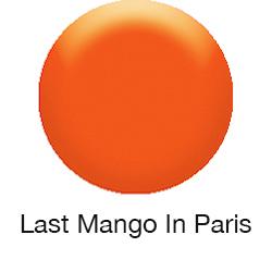 GLOSSWORKS Nagellack - Last Mango in Paris / Trau Dich Was ( knalliges Orange)