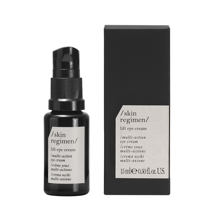 Skin Regimen - lift eye cream / gegen Augenringe und Schwellungen .