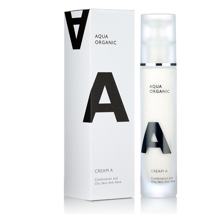 Aqua Organic - A Cream / Akne . Mattierend.Antibakteriell.