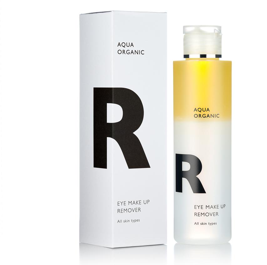 Aqua Organic - R eye make up remove / Empfindliche Haut.