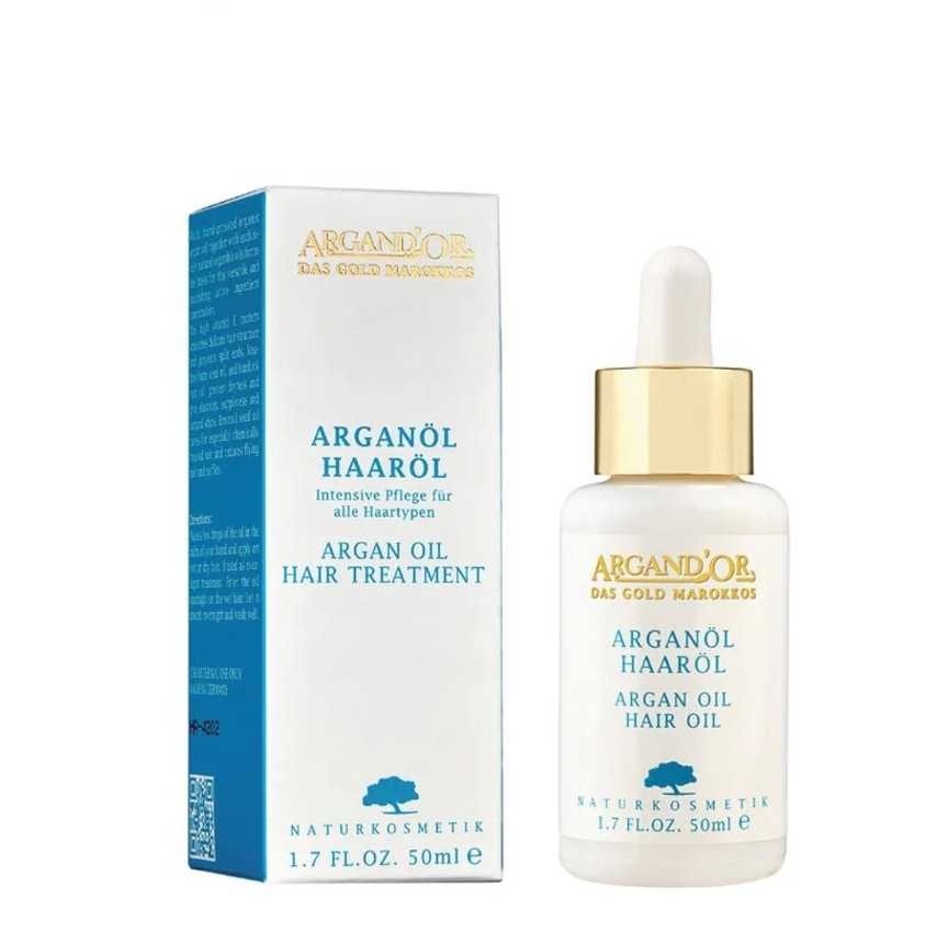 Argan Haaröl 50ml ArgandÒr / Traumhafte und Gesunde Haare.