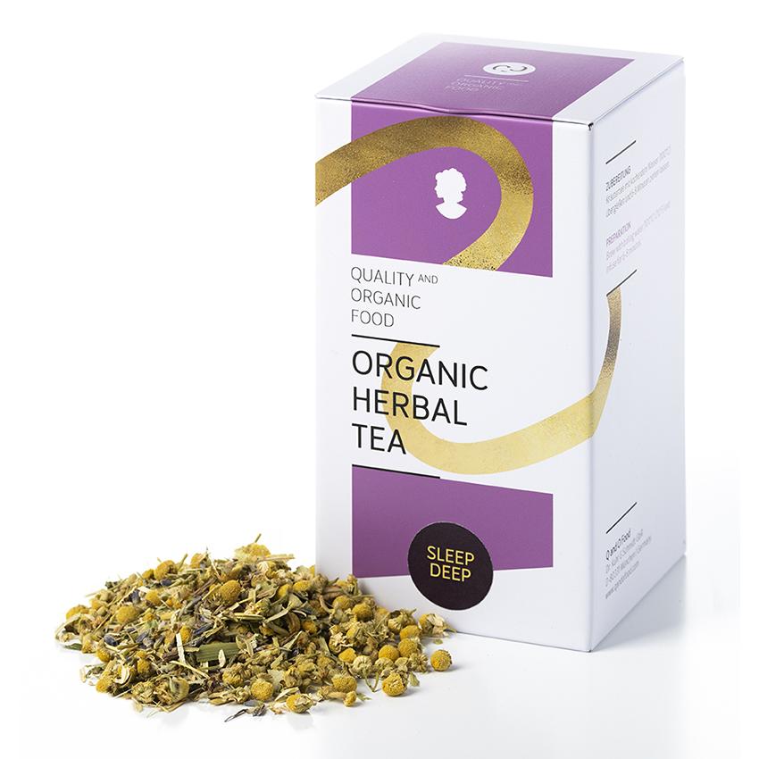 organic herbal tea - sleep deep