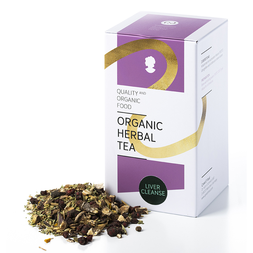 Organic Herbal Tea- liver cleanse/ Kraft der Leber. Perfekter Entgifter.